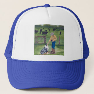Australian Shepherd ~ End of the Day Trucker Hat