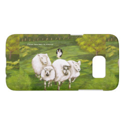 Case-Mate Barely There Samsung Galaxy S7 Case with Australian Shepherd Phone Cases design