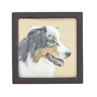 Australian Shepherd Gift Box
