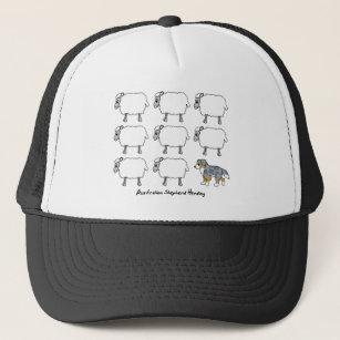 75e5ba314 Sheep Herding Dog Baseball & Trucker Hats | Zazzle