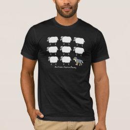 Australian Shepherd Herding Sheep T-Shirt