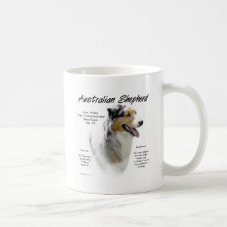 Australian Shepherd History Design Coffee Mug