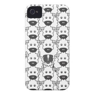 Australian Shepherd in the Sheep Case-Mate iPhone 4 Case