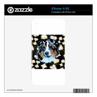 AUSTRALIAN SHEPHERD iPhone 4 SKIN