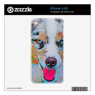 Australian Shepherd iPhone 4S Skin