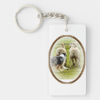 Australian Shepherd Key Chain