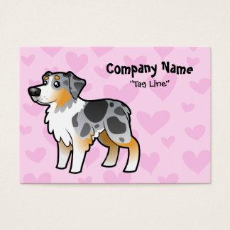 Australian Shepherd Love Business Card