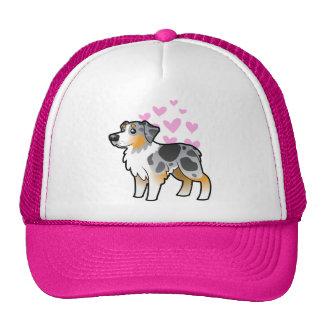 Australian Shepherd Love Trucker Hat