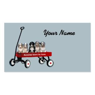 Australian Shepherd Lover Business Card