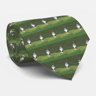 Australian Shepherd Mens double-sided printNecktie Tie