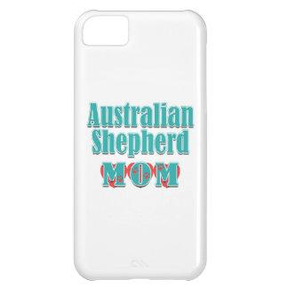 Australian Shepherd Mom Hearts Case For iPhone 5C