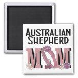 Australian Shepherd MOM Magnets