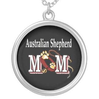 australian shepherd mom necklace