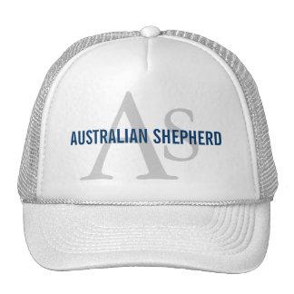 Australian Shepherd Monogram Trucker Hat