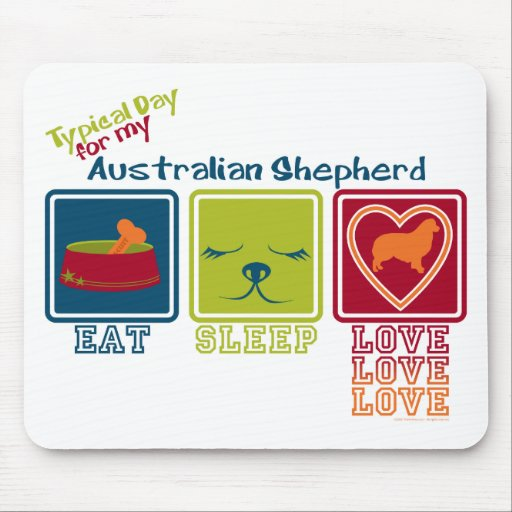 Australian Shepherd Mouse Pad