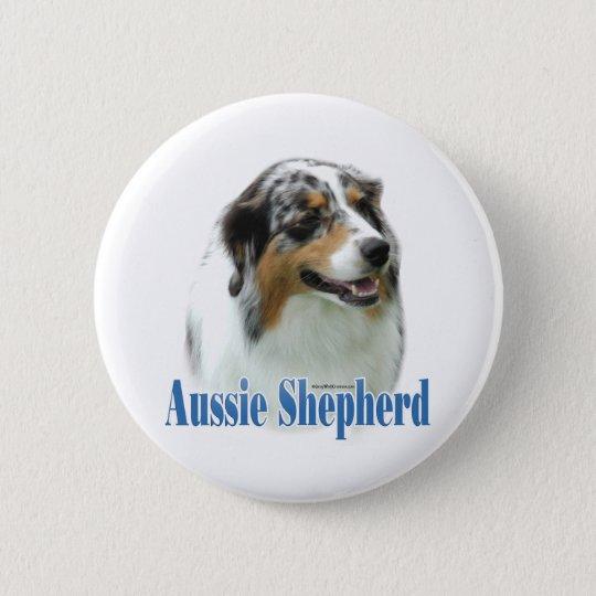 Australian Shepherd Name - Button