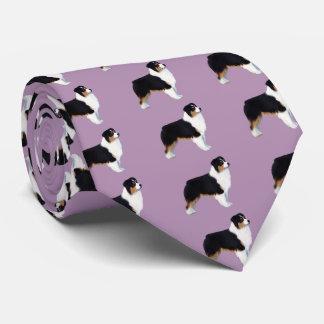Australian Shepherd Neck Tie
