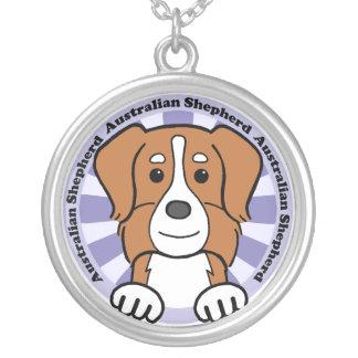 Australian Shepherd Personalized Necklace