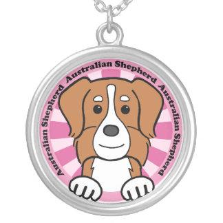 Australian Shepherd Custom Necklace