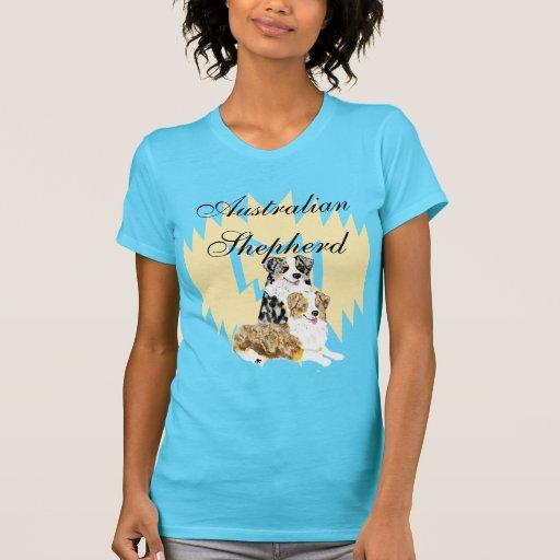 Australian Shepherd Pair 1 T Shirt