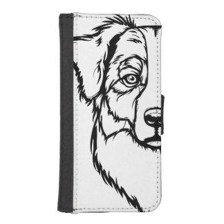 Australian Shepherd Portrait iPhone SE/5/5s Wallet