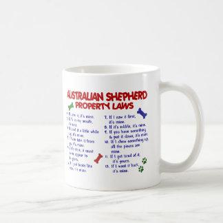 AUSTRALIAN SHEPHERD Property Laws 2 Classic White Coffee Mug