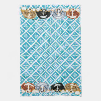 Australian Shepherd Puppies Towel