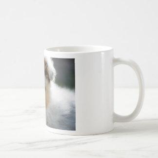 Australian shepherd puppy coffee mug