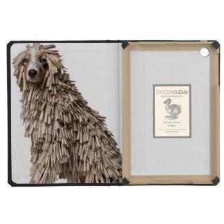Australian Shepherd puppy full of Clothespin (5 iPad Mini Cases