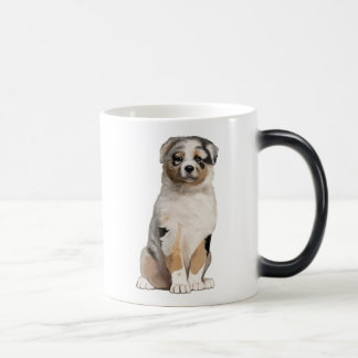Australian Shepherd Puppy Magic Mug