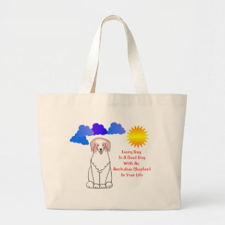 Australian Shepherd Red Every Day Is A Good Day Canvas Bag