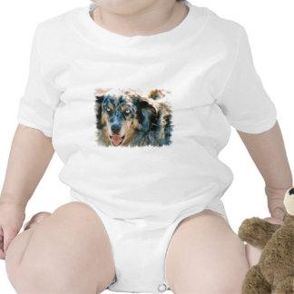 Australian Shepherd Rescue Baby T-Shirt