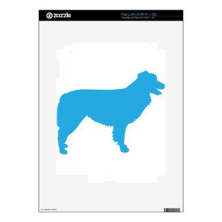 Australian Shepherd Silhouette iPad 2 Decals