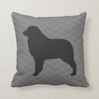 Australian Shepherd Silhouette Throw Pillow