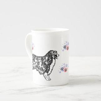 Australian Shepherd Bone China Mug