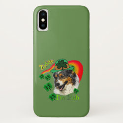 Case-Mate Barely There iPhone X Case with Australian Shepherd Phone Cases design