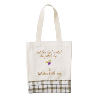 Australian Shepherd Zazzle HEART Tote Bag