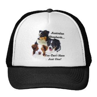 Australian shepherds trucker hat