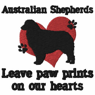 Australian Shepherds Leave Paw Prints
