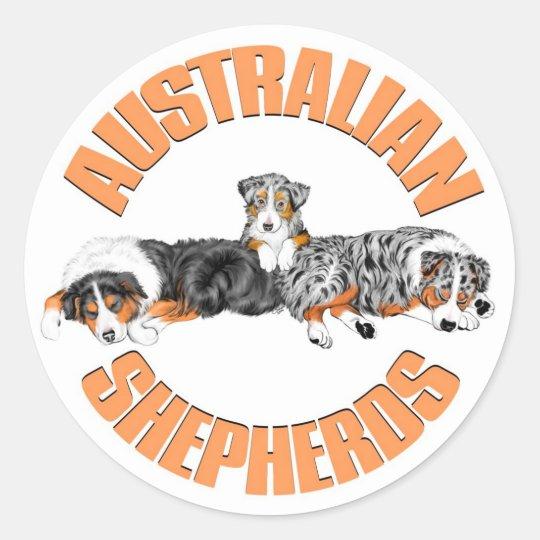 Australian Shepherds Sticker