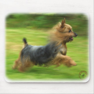 Australian Silky Terrier design Mouse Pad