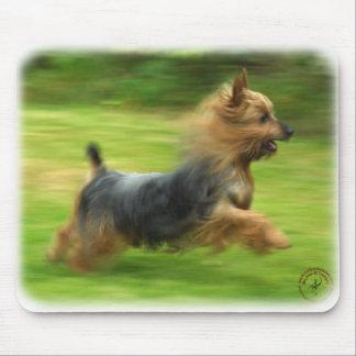 Australian Silky Terrier design Mousepads