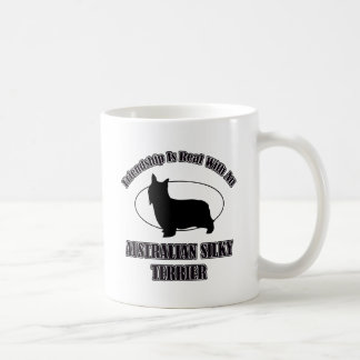 AUSTRALIAN SILKY TERRIER DOG DESIGNS COFFEE MUG