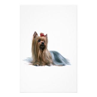 Australian Silky Terrier Dog Show Dog Stationery