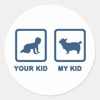 Australian Silky Terrier Stickers