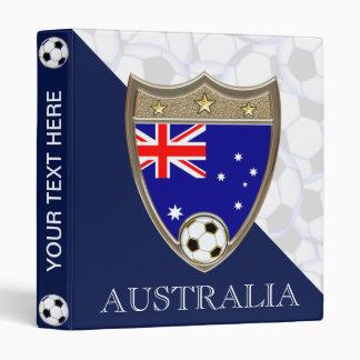 "Australian Soccer 1"" Binder"