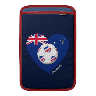 "Australian Soccer Team. Fútbol de ""AUSTRALIA"" Funda MacBook"