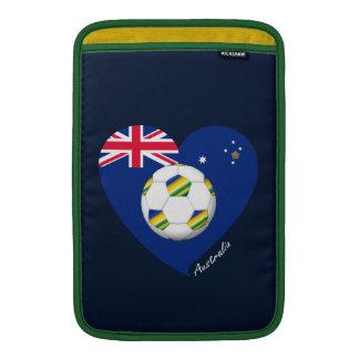 "Australian Soccer Team. Fútbol de ""AUSTRALIA"" Funda Para Macbook Air"
