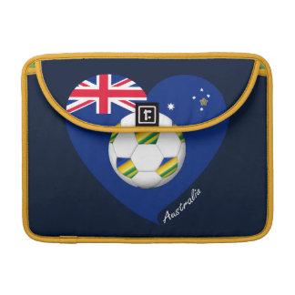 "Australian Soccer Team. Fútbol de ""AUSTRALIA"" Funda Macbook Pro"