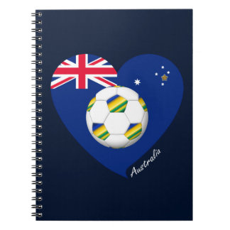 "Australian Soccer Team. Fútbol de ""AUSTRALIA"" Libros De Apuntes"